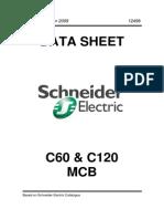 Schneider C60 Dan C120 MCB