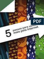 eBook 5 Passos Para Vender Mais Pela Internet 2013