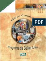 Marco Curricular de Bellas Artes