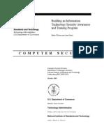 Develop Sec Awarness Training NIST-SP800-50
