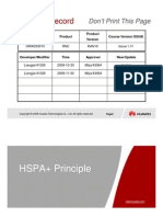 OWA333010 WCDMA HSPA+ Principles RAN11 ISSUE1.11.Ppt [Last Saved by User]