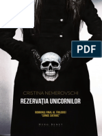 Rezervaţia unicornilor (fragmente) un roman de Cristina Nemerovsch