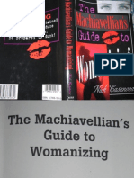 Machiavellian's Guide to Womanizing