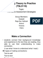 Formative Assessment Strategies TSL 3110