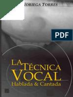 La técnica vocal