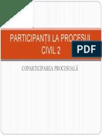 Participantii - coparticiparea procesuala
