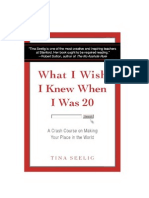 S2 L1 What I Wish I Knew When I Was 20 (Tina Seelig)