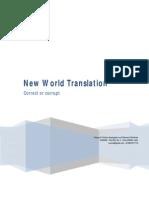 New World Translation Correct or Corrupt