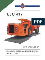 Sistema Hidraulico EJC 417