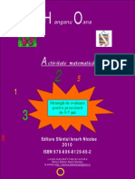Activitate Matematica-Strategii de Evaluare Pentru Prescolari-Hanganu-Oana