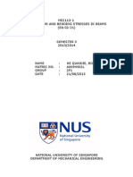 C1 NUS Lab Report