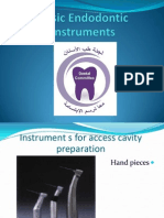 Summary of Instruments