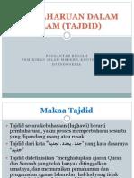 Pembaharuan Dalam Islam Tajdid