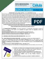 004 - ESTUDO DE CÉLULA - O PRINCÍPIO DA HONRA 1