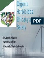 Organic Herbicides