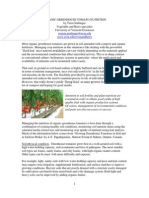 Organic Greenhouse Tomato Nutrition