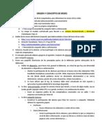Clase 01 - Guia - Origenes y Concepto de Redes