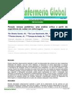 Punção venosa pediátrica,  uma análise crítica a partir da experiência do cuidar em enfermagem