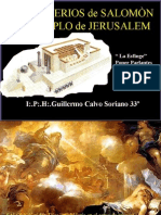 Los Misterios de Salomón y el Templo de Jerusalem