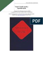 Vanyó Laszló - Apostoli Atyák