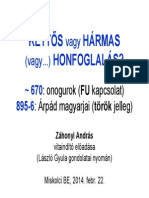 László Gyula honfoglalás-elmélete