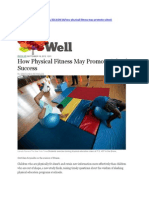 Physical Fitness School Success