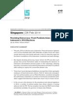 ISEAS Perspective 2014 10-Resisting Democracy