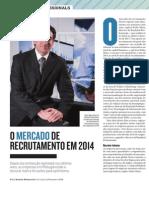 O mercado de recrutamento em 2014