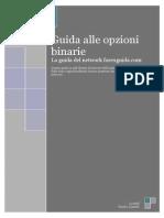 Guida Opzioni Binarie