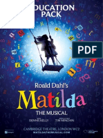 Matilda the Musical Education Pack 2011