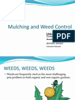 Mulching and Weed Control