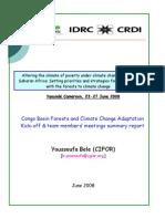 Rapport réunion lancement projet CoFCCA _English Summary_