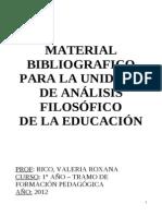 Material Bibliográfico Unidad 3 - Análisis Filosófico
