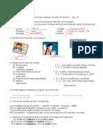 Examen 6 a Comunicacion
