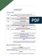 Agenda Presentations 09