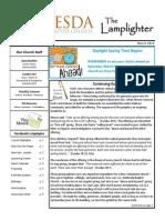 March 2014 Lamplighter