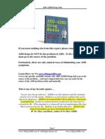 Add Adhd Drug Guide