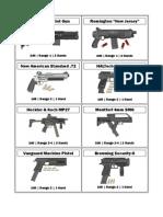 Agon Ex Machina - Guns Revised