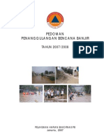 PEDOMAN Penanggulangan Banjir2007 by Bakornas