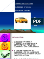 Automation Using Embedded Systems