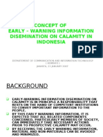 SOP on Information Dissemination of Calamity in Indonesia by Depkominfo