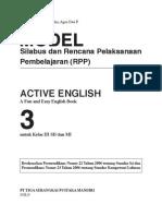 Ktsp Active English Sd 3
