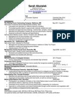 abutalebsarah finance resume