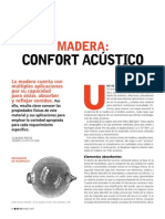 Madera y Acustica