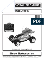 IR Remote Controlled Car
