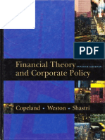 Copeland - Financial Theory and Corporate Policy [4th Edition]