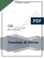 2 Simulado de DIREITO Pm Pi Pronto 20-11-13