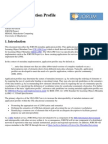 Jorum Application Profile draft version 1.0