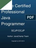 Oracle Certified Professional Java Programmer SCJP/OCJP  Mock Exams