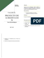 Taller 01 - Proyecto de Acreditacion